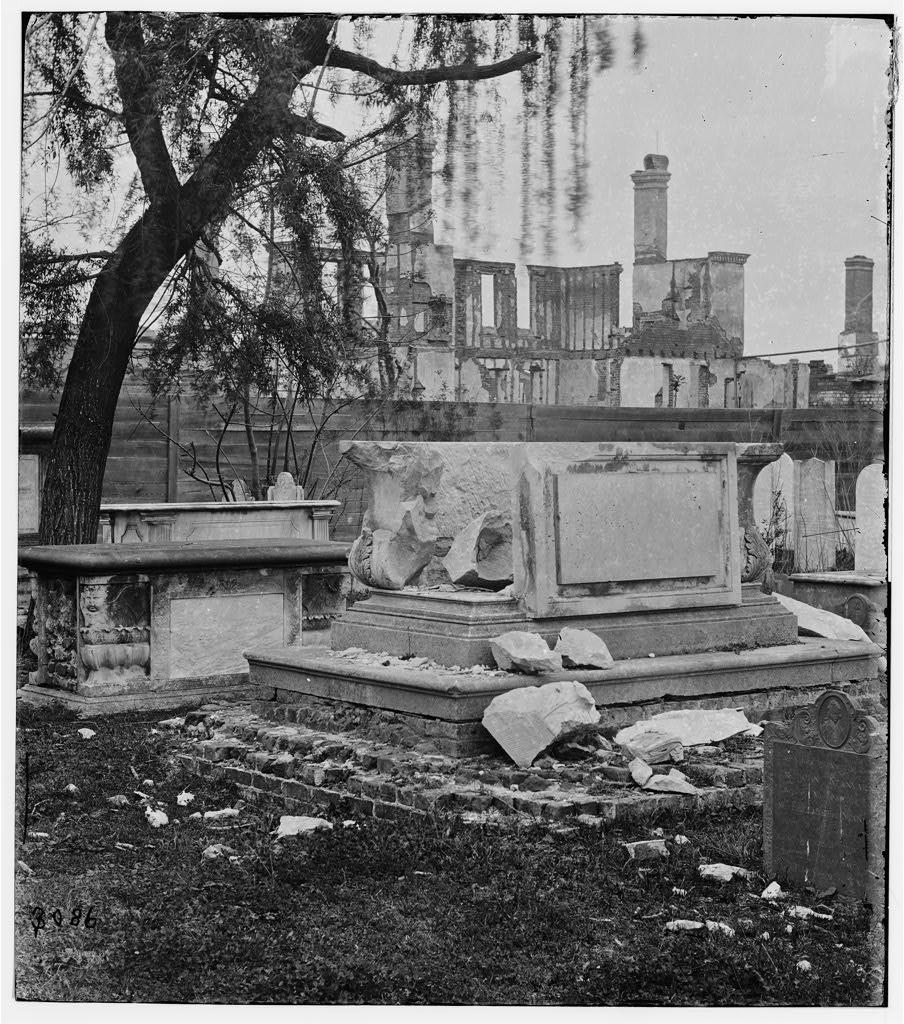 tomb at the circular graveyard