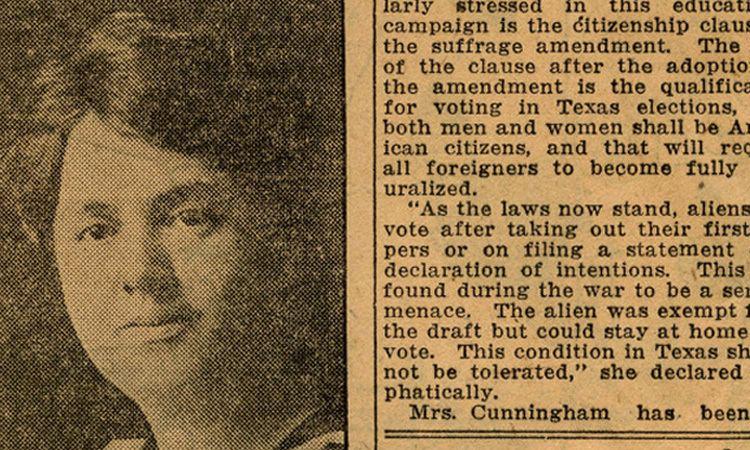 newspaper excerpt