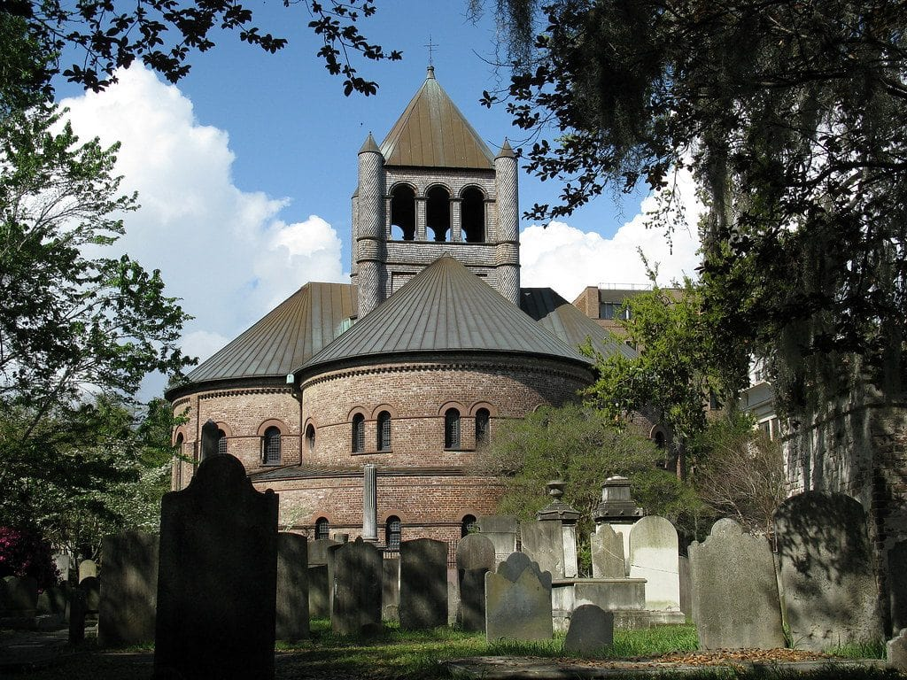 Haunted Charleston: Most Haunted Places #5: The Circular Graveyard - Photo