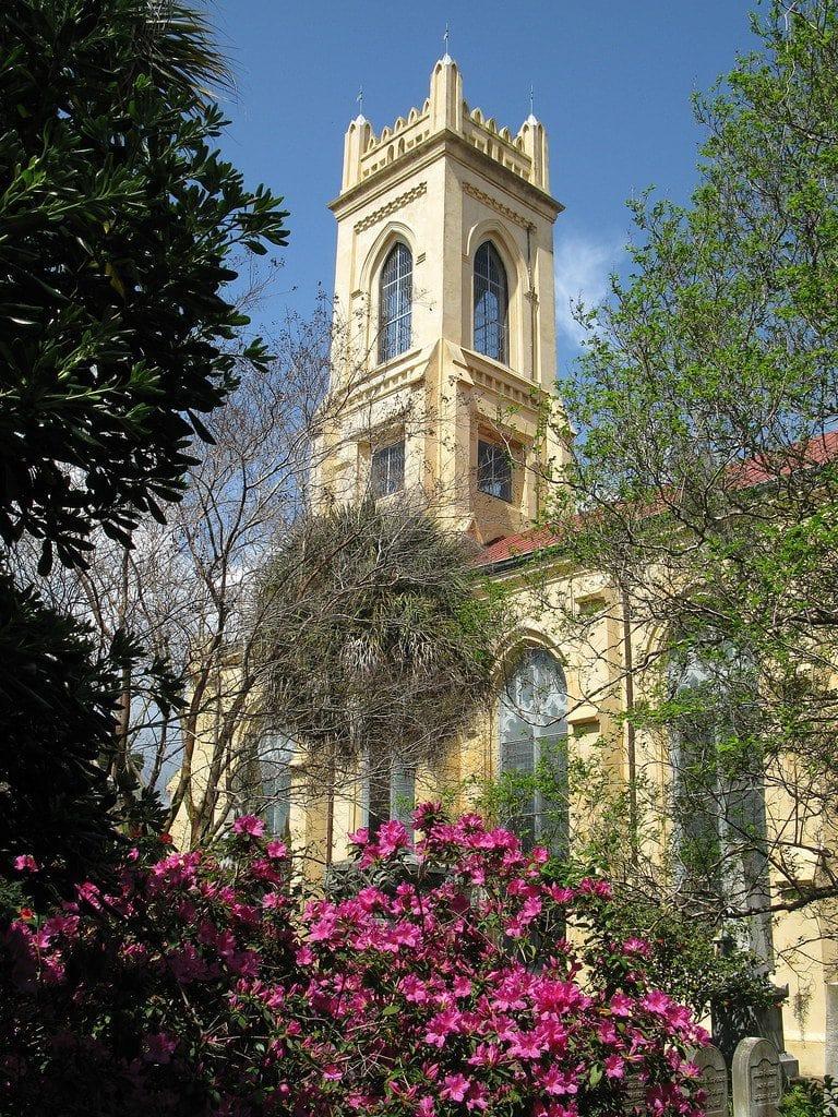 The Unitarian Cemetery in Charleston, SC