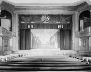 The interior of Dock Street Theatre in Charleston