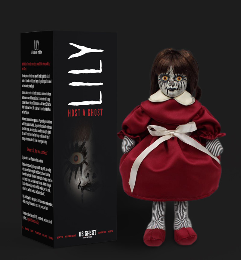 Photo of Lily the haunted dolls