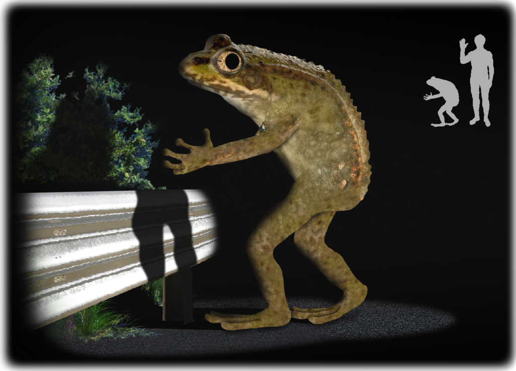 It's not easy being green: The Loveland Frogman